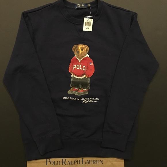 5e55fea4df07e Polo Bear Limited Edition Crewneck Sweatshirt NWT